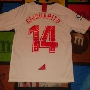 Sevilla FC Chicharito Mens Jersey
